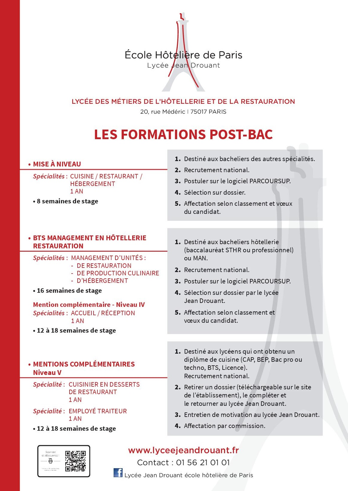 A l'issue du bac