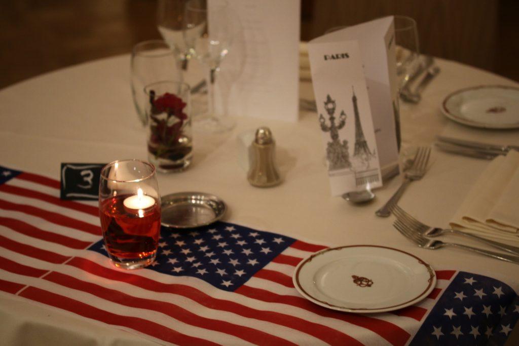Soirée Chicago du 23 novembre 2016 au lycée Jean Drouant - Présentation de la table
